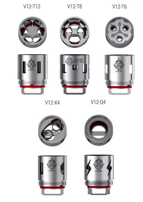 SMOK TFV12 Replacement Coils (Pack of 3)