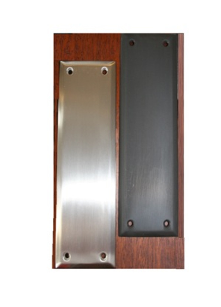 Solid Brass Push Plate