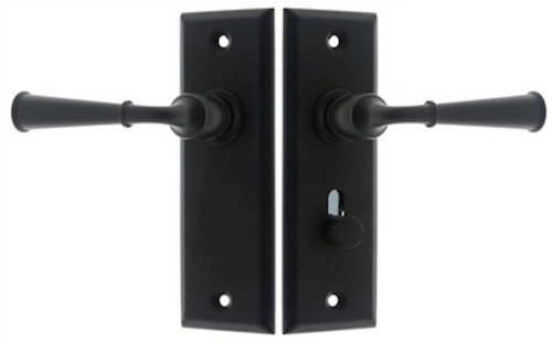 The Big City Lockset - Lever & Lever