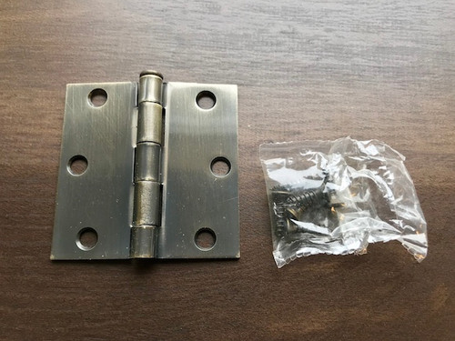 Steel 3x3 Hinge - Used (Scratches)