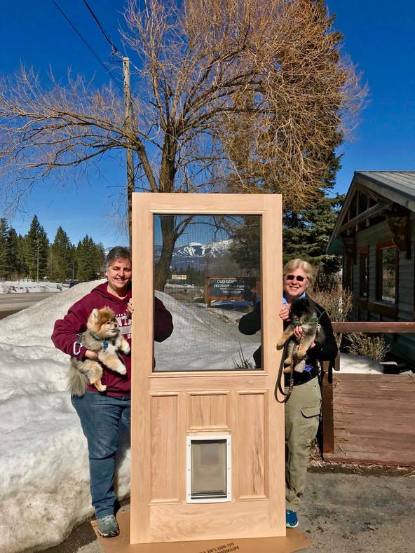 Our Furry Friends Love the Pet Door!