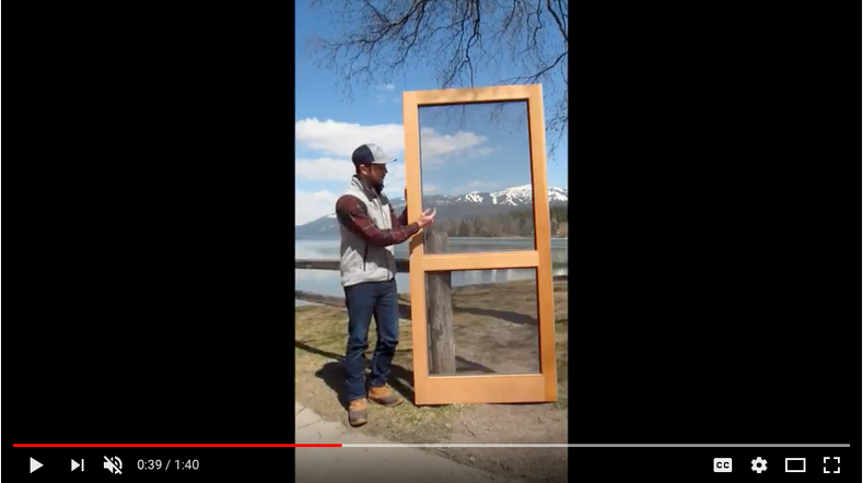 Video Walk-Through of Our Standard Series Doors!