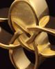 Memorial Keepsake 14k Gold Celtic Cross Keepsake