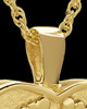 Cremation Pendant Gold Plated In My Heart Keepsake