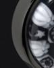 Black Plated Stainless Time Of Healing Round Keepsake Pendant