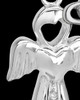 Sterling Silver March Heavenly Attendant Cremation Urn Pendant