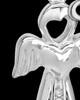 Sterling Silver November Heavenly Attendant Cremation Urn Pendant