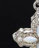Sterling Silver Devout Cross Cremation Urn Pendant