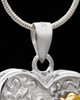 Remember Me Pet Cremation Urn Pendant