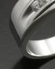 Men's Fondness Silver Ash Ring