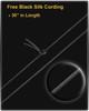 Pet Necklace Urn Stainless Steel Black Lasting Imprint
