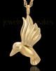 Gold Plated Flight of Love Urn Keepsake