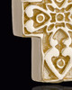 Gold Plated Esteemed Cross Keepsake Jewelry