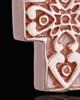 Rose Gold Plated Esteemed Cross Keepsake Jewelry