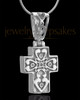Sterling Silver Esteemed Cross Keepsake Jewelry