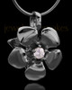Black Plated Blooming Keepsake Jewelry