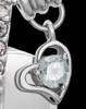 Sterling Silver April Weeping Heart Keepsake Jewelry