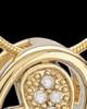 Gold Plated Fluttering Heart Keepsake Jewelry