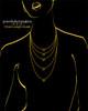 Black Plated Clover Heart Keepsake Jewelry