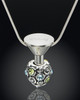 Stainless Steel Millenium Cremation Pendant with Trusting Charm
