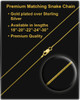 Gold Plated Stainless Millenium Cremation Pendant with Kindly Charm