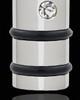 Silver Plated Cremation Locket Determination Cylinder