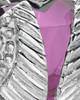 Stainless Steel Purple Fond Emotions Jewelry Keepsake