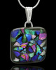 Glass Calming Waters Cremation Keepsake Jewelry