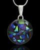 Glass Starry Nights Round Keepsake Jewelry