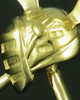 Memorial Pendant Gold Plated LAX Keepsake