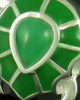 Cremation Jewelry Sterling Silver Emerald Turtle Keepsake