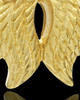 Urn Pendant 14k Gold Angel Wings Keepsake