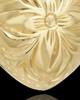 Cremation Jewelry Gold Vermeil Daisy Heart Keepsake