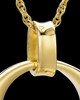 Urn Pendant 14K Gold Plated Timeless Keepsake