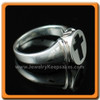 Memorial Jewelry Sterling Silver Mens Eternity Ring