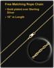 Pet Memorial Pendant Milky Bone - Gold Plated - Engravable