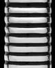 Cremation Urn Pendant Sterling Silver Grooved Cylinder Keepsake