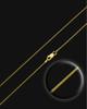 """30"""" Gold Premium Snake  Chain"""