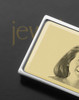 Gold on Silver Photo Engraved Money Clip