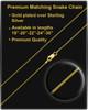 February Gold Dog Tag Photo Pendant