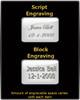 Cremation Locket Black Plated Determination Cylinder