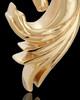 Wild Horse 14K Yellow Gold Cremation Pendant