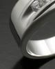 White Gold Men's Fondness Cremation Ring