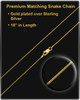 Spar 14K Gold Urn Pendant