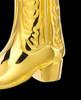 Boot 14 Karat Gold Memorial Keepsake
