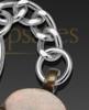 Petite Paw Brass Memorial Keychain