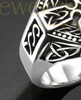 Sterling Nobility Cremation Ring