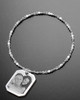 Luxury Octagon Photo Engraved Bracelet