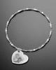 Luxury Side Heart Photo Engraved Bracelet