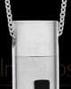 Men's Steel Spirited Cylinder Urn Pendant